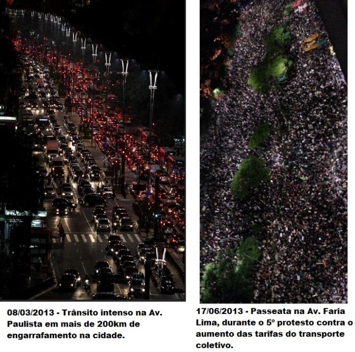 Fonte: http://noticias.uol.com.br/album/2013/03/08/chuva-faz-transito-bater-recorde-em-sao-paulo.htm#fotoNav=6 http://pgn9.com.br/wp/pai/protestos-se-espalham-e-reunem-mais-de-250-mil-grupos-invadem-congresso-sede-do-governo-do-parana-e-alerj/